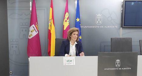 Vox registra dos mociones para su aprobación en el próximo pleno del Ayuntamiento de Albacete