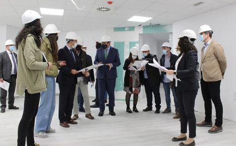 En junio comenzarán los traslados de consultas externas de Hospital Albacete al nuevo edificio del centro de salud 8