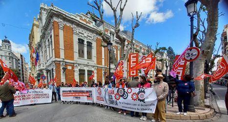 1º de mayo.- CCOO y UGT piden a los políticos 'que den la cara' y cumplan con la clase trabajadora de Castilla-La Mancha