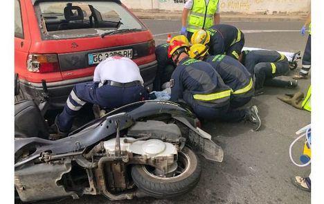 Sucesos.- Un fallecido y un herido tras la colisión de un coche y una moto en Ruidera (Ciudad Real)