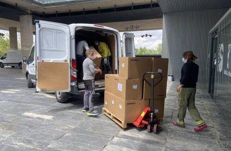 Castilla-La Mancha supera los 47 millones de artículos de protección enviados a los centros sanitarios desde el inicio de la pandemia