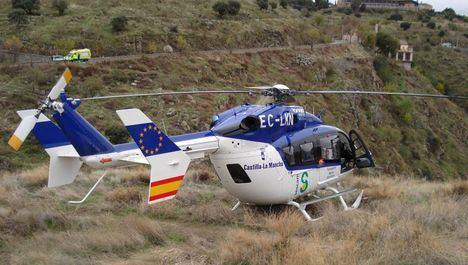 Dos fallecidos tras la salida de vía de su turismo en un cerro en San Pablo de los Montes (Toledo)