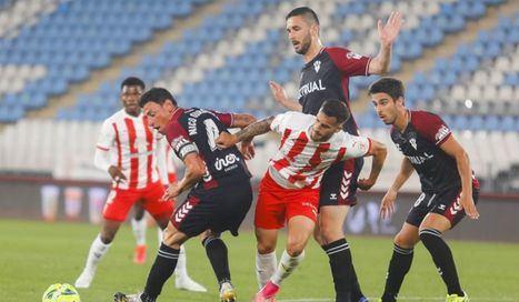 1-1.- El Albacete suma un punto en Almería pero insuficiente para evitar el descenso