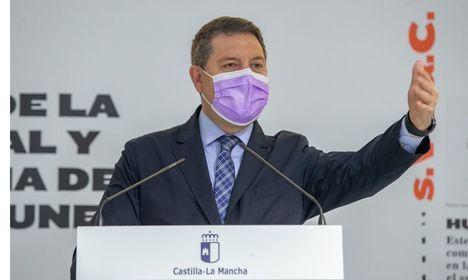 Coronavirus.- Castilla-La Mancha supera el millón de dosis administradas pero Page avisa: