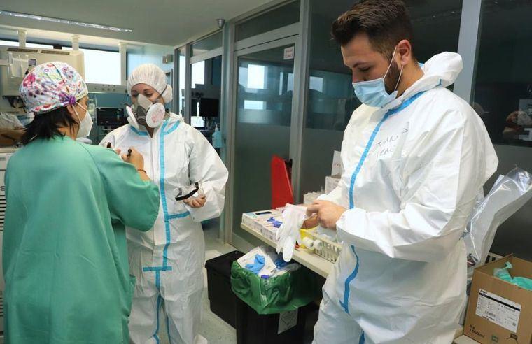Coronavirus.- Castilla-La Mancha registra 157 nuevos casos, los fallecidos suman 5 y se reduce el número de hospitalizados