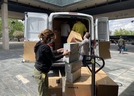 Coronavirus.- Los centros sanitarios de Castilla-La Mancha reciben esta semana más de 230.000 artículos de protección