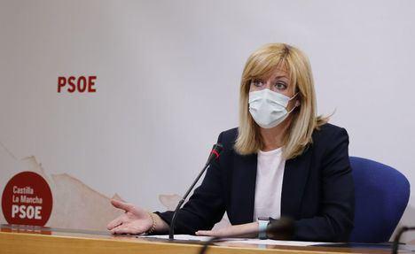 """Abengózar: """"El pacto que pide Núñez es el del señor Casado y eso significa seguir expoliando el agua a Castilla-La Mancha"""" y compara las """"fotos de los recortes"""" con las de 'generar expectativas, riqueza y empleo'"""