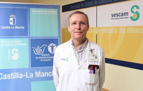 El doctor del Hospital de Albacete, Pablo León Atance, nombrado presidente de la Sociedad Española de Cirugía Torácica