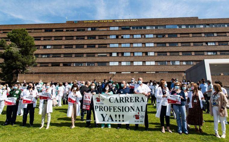 """Según los sindicatos sanitarios independientes: """"Page miente e incumple sus promesas"""""""