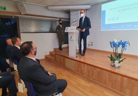 La Diputación de Albacete reitera su compromiso con el tejido empresarial de la provincia durante la Clausura de la XLIV Asamblea de ADECA