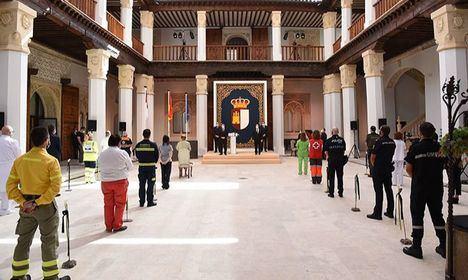 Castilla-La Mancha otorga este lunes Medalla de Oro a 30 colectivos por lucha contra COVID