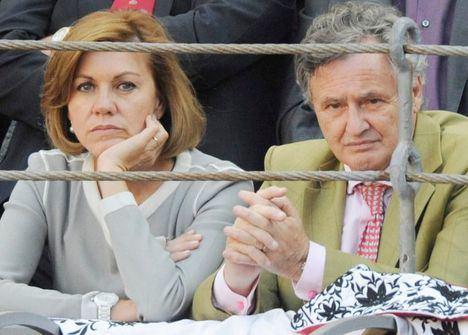 El juez imputa a Cospedal y a su marido por el presunto espionaje a Bárcenas en la 'Operación Kitchen'
