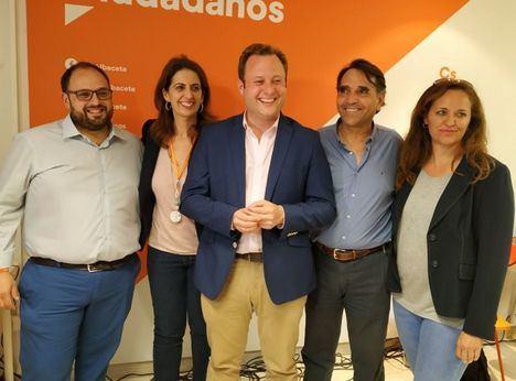 Los coordinadores locales de Ciudadanos en Albacete denuncian la