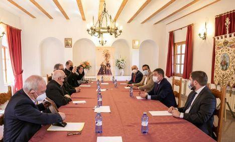El Gobierno regional colaborará en la celebración del VIII Centenario de la Virgen de Cortes en Alcaraz