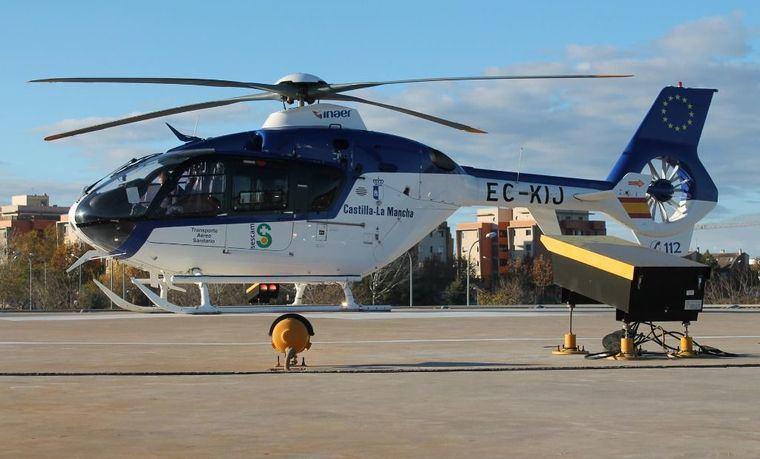 Sucesos.- Trasladado en helicóptero a La Paz de Madrid un trabajador tras sufrir la amputación de una mano en Albacete