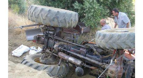 Sucesos.- Fallece el conductor de un tractor tras volcar su vehículo en Letur (Albacete)