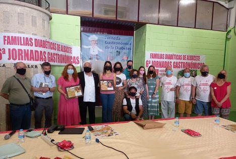 La concejala de Atención a las Personas participa en las VI Jornadas Gastronómicas de la Asociación de Familias Diabéticas
