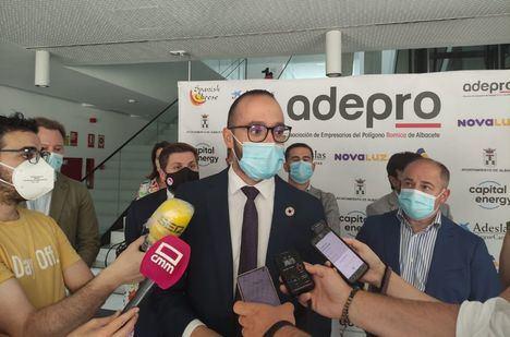 Fran Valera subraya el compromiso de la Diputación con el sector empresarial de la provincia y con la defensa de los intereses de este territorio