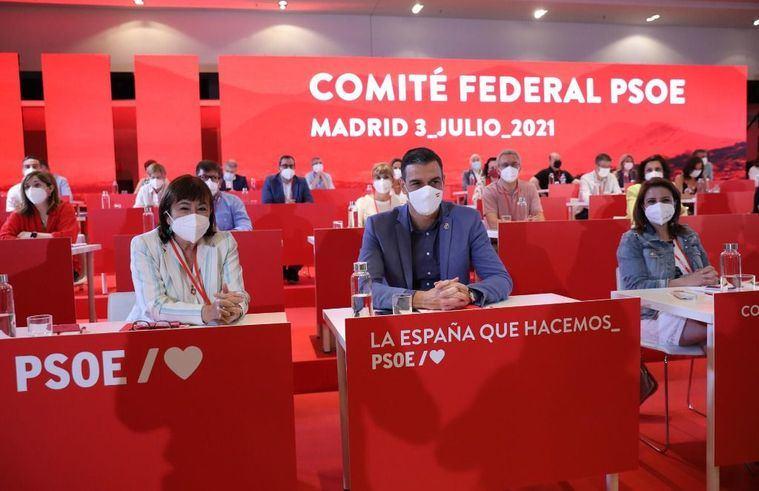 Page ausente del Comité Federal del PSOE que cierra filas con Sánchez por los indultos y algunas CCAA piden financiación sin privilegios