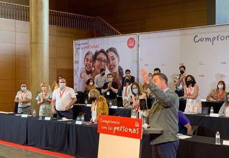 El PSOE de Castilla-La Mancha se muestra 'feliz' del nombramiento de Rodríguez como ministra y le desea 'suerte y buen trabajo'
