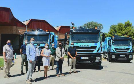 El Consorcio de Medio Ambiente de la Diputación de Albacete incorpora tres nuevos camiones a la Recogida Selectiva de Papel-Cartón en la provincia