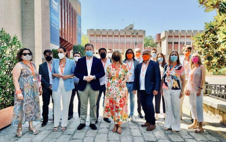 Vicente Casañ defiende la gestión medioambiental de Albacete en la convención nacional de Ciudadanos