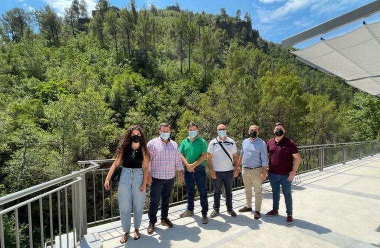 Manuel Serrano reclama a Page más recursos para luchar contra la despoblación en la Sierra del Segura