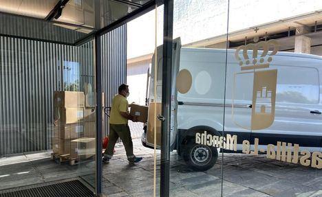 Coronavirus.- Los centros sanitarios de Castilla-La Mancha reciben una nueva remesa con más de 221.000 artículos de protección