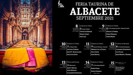 Albacete tendrá la Feria Taurina más extensa de la temporada de toros con ocho festejos taurinos con las principales ganaderías y seis primeras espadas