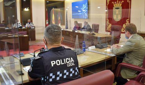 La policía reforzará servicio en horario nocturno de cara a los actos festivos de Albacete