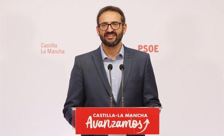 El PSOE de C-LM ve que el silencio de Casado 'debilita a Núñez' y genera rumores 'sobre su pronta destitución'