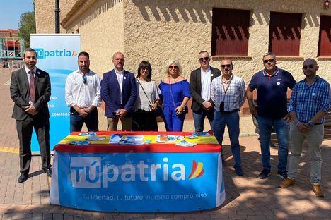 TÚpatria presenta al equipo provincial de Albacete encabezado por Alberto Plaza
