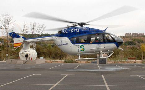 Sucesos.- Herido grave un trabajador de 44 años tras caerle encima un torete mecánico en Hellín