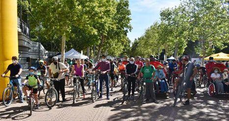 Emilio Sáez apuesta por una movilidad sostenible en Albacete con métodos alternativos de transporte como la bicicleta