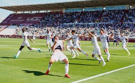 2-0: El Albacete Balompié arrolla en el Carlos Belmonte a un joven Real Madrid Castilla