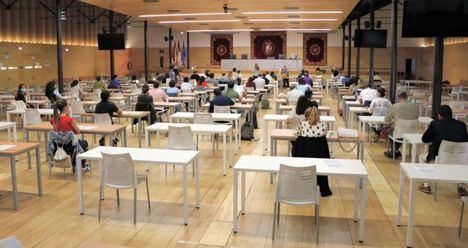 Se celebran las pruebas de las oposiciones al Sescam con 446 aspirantes, un 68% de los aspirantes admitidos