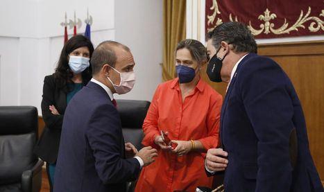 Foto: La diputada del PP, Ana Guarinos en las Cortes.