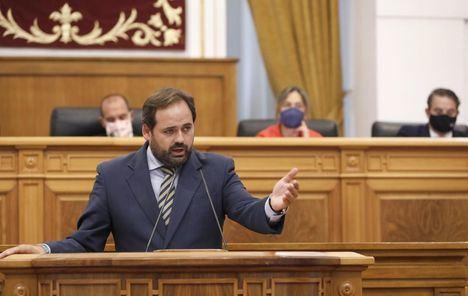 Debate.- Núñez emplaza a Page elaborar nuevo Estatuto de Autonomía de Castilla-La Mancha que excluya la reforma de ley electoral