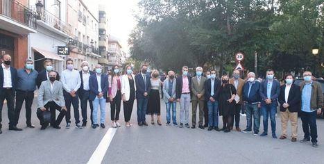 Santi Cabañero asiste a la Feria del Primer Corte de la Miel de Ayora poniendo de manifiesto las buenas relaciones institucionales entre la administración albaceteña y la valenciana