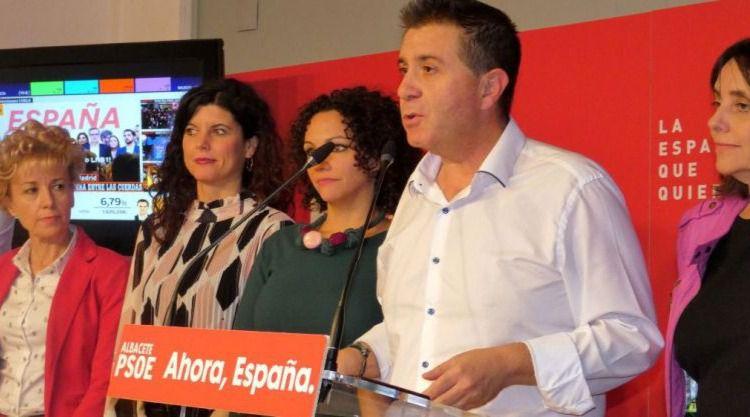Santiago Cabañero presenta su candidatura a la reelección al frente de la Secretaría General del PSOE en la provincia de Albacete