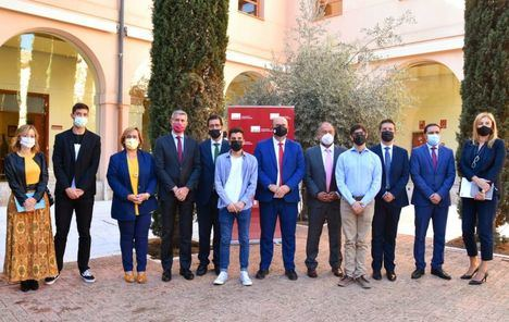 """Santi Cabañero subraya """"el enorme privilegio"""" que es para la Diputación de Albacete formar parte del Programa 'UCLM Rural: Universitarios ante la despoblación'"""