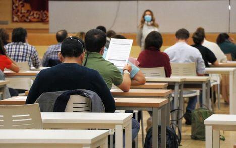 Comienzan los exámenes de las OEP de 2019 y 2020 en Castilla-La Mancha, con más de 57.500 aspirantes admitidos para optar a 1.518 plazas