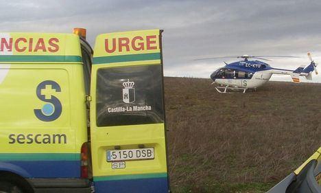 Sucesos.- Trasladado al hospital tras dispararse accidentalmente en un pie mientras cazaba en Ossa de Montiel (Albacete)
