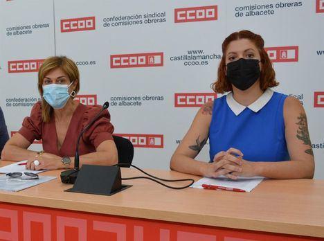 CCOO acusa a Champinter y al PP de querer 'mermar los derechos' de la plantilla