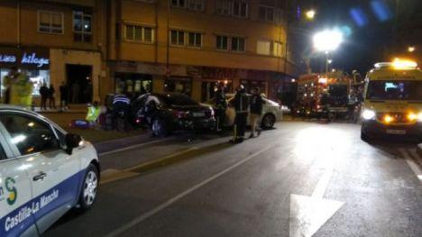 Accidente en el cruce entre el Paseo de Circunvalación y la carretera de Jaén