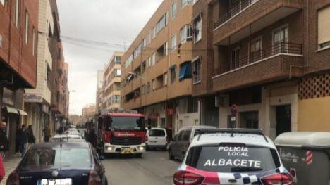 Incendio con daños materiales y mucho humo en el barrio San Pablo de Albacete