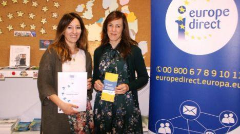 El Ayuntamiento recibe 24.700 euros para el funcionamiento del Centro de Información 'Europa Directo' durante 2018