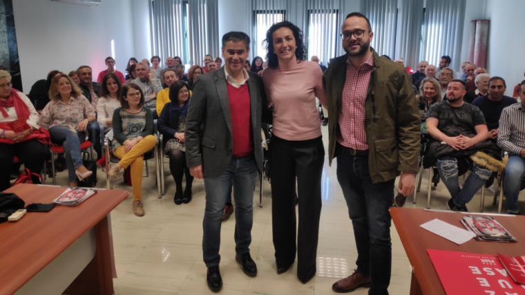 González Ramos subraya el compromiso del PSOE de consolidar los servicios sociales a través de una ley estatal