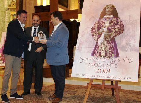 La imagen de Nuestro Padre Jesús de Medinaceli protagoniza el cartel anunciador de la Semana Santa de Albacete 2018