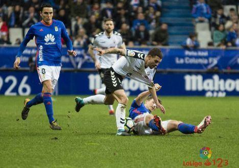 0-0.El Albacete suma un punto en Oviedo tras un partido serio y bien jugado.